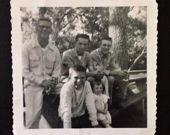 Original Antique Photograph Ervine Park 1953