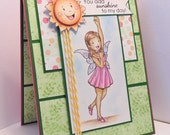 "Handmade ""You Add Sunshine"" Greeting Card"