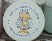 Baby Shower Favors - Personalized Whipped Body Butter (Our Princess - Design #3)