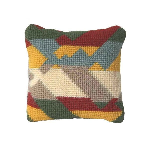 Sweetie Pillow Modern Needlepoint gift kit Little Canyon 2
