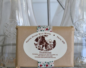 Unscented - Handmade Cold Process Soap