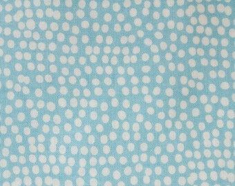 Fabric Dashwood Light Teal  Sold by the Half Metre Light Blue and White Fabric - UK Shop - Craft Supplies