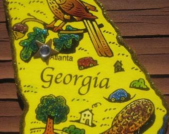 GEORGIA Art  Magnet