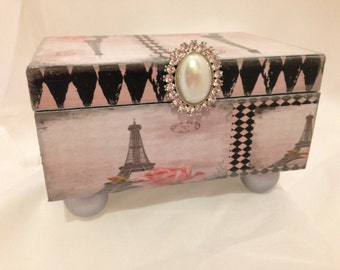 Paris Eiffle Tower Decorative Box