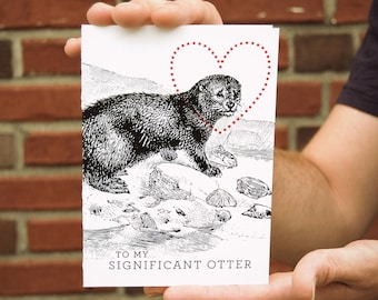 Significant Otter Card