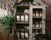 The Flower Cupboard: CHOOSE YOUR OWN Flower Jar (While Supplies Last!) Magic, spells, apothecary, organic, spellwork, properties
