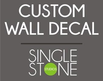 Custom Trade Show Wall Decal for veronica
