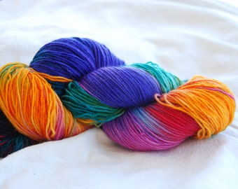 handdyed Yarn, 100g/ 3,5oz , colourJane