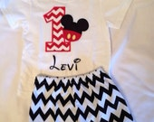 Mickey Mouse inspired Birthday Set