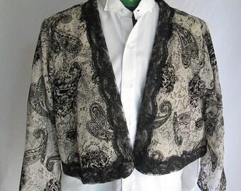 Ladies Turkish jacket, Victorian style