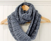 Crochet Pattern - Mobius Infinity Scarf / Wrap Pattern  (includes instructions to customize fit) - Instant Download  PDF