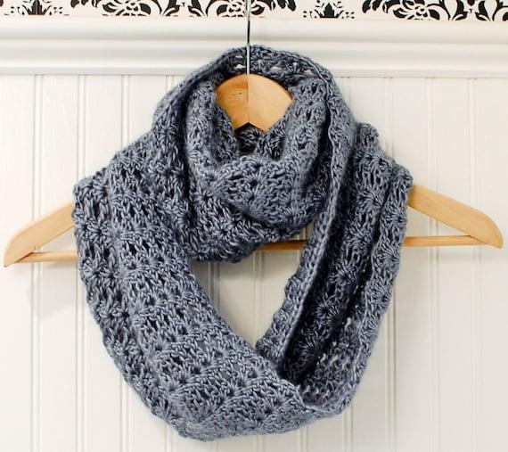 Crochet Pattern Mobius Infinity Scarf / Wrap Pattern
