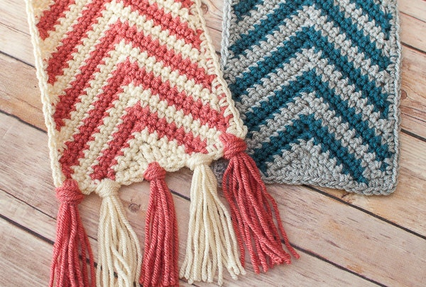 how to crochet an infinity scarf for beginners