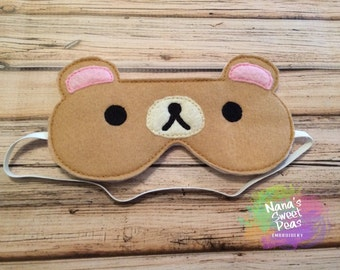 Bear Sleep Mask