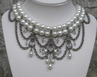 Divine Decadence......white and silver