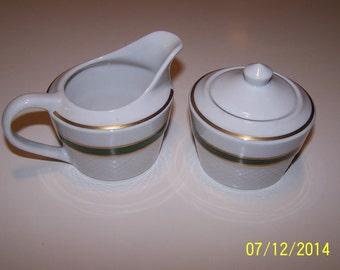 Jackson Custom China Sugar & Creamer Set
