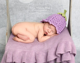 Newborn Tulip Hat - Photography Prop