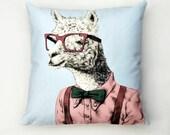 Buddy the Llama Cushion Cover