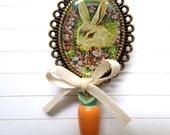 Mr. Rabbit Brooch