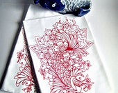 Koi Tea Towel set of 2