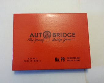 Deluxe Auto Bridge Pocket Model Game