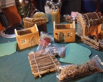 Model fairy house