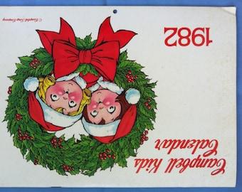 1982 Campbell Kids Calendar