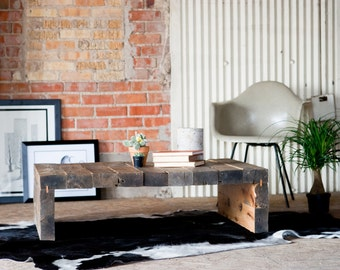 Rustic Modern Coffee Table