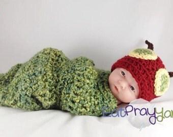 Hungry Caterpillar Newborn Photo-Prop
