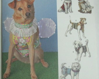 Simplicity Pattern for Dogs  Size S,M,L