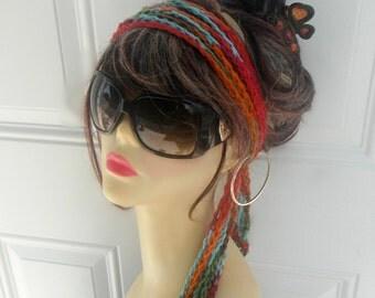 Womens Headband Chain Headband Hair Accessories Crochet Head wrap Hair Tie Summer Hair Accessories Womens Hair Accessories Boho Headband