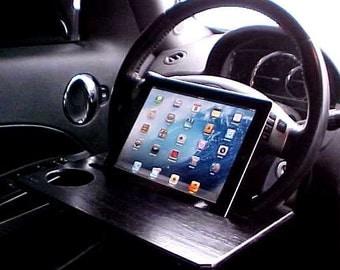 Car Steering Wheel iPad Stand- Table -Laptop Desk