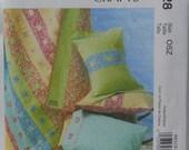 Pillowcase Pattern, Quilt Pattern,  Pillowsham Pattern, McCalls M6528,  Sham, , Uncut