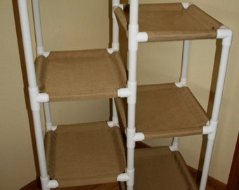 The 6 Tier Cat Condo, Heavy Duty Cordura Fabric, choice of colors
