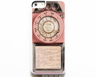 iPhone 5C Case. Vintage Pink Payphone. Case for iPhone 5C. Phone Case. Phone Cases. iPhone Case. iPhone Cases.