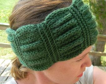 Knitting Pattern - Betty headband, knit headband pattern, knit headwrap pattern, knit ear warmer pattern, knit neck warmer, hand knit hat
