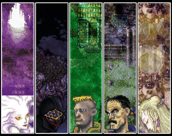Video Game Art Print - Final Fantasy VI - Super Nintendo Tribute