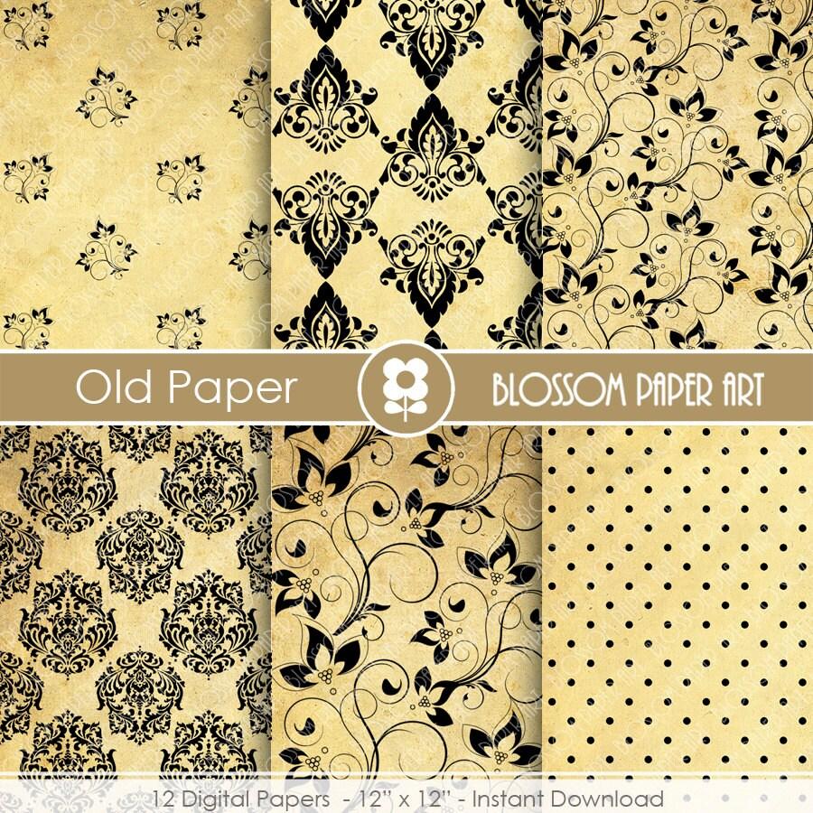 Papeles decorativos papel antiguo papeles decorativos - Papeles decorativos de pared ...