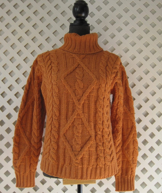 inis crafts fisherman sweater cable knit 100 merino wool warm