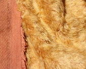 LouBear Mohair fabric for teddy bear making and crafting.