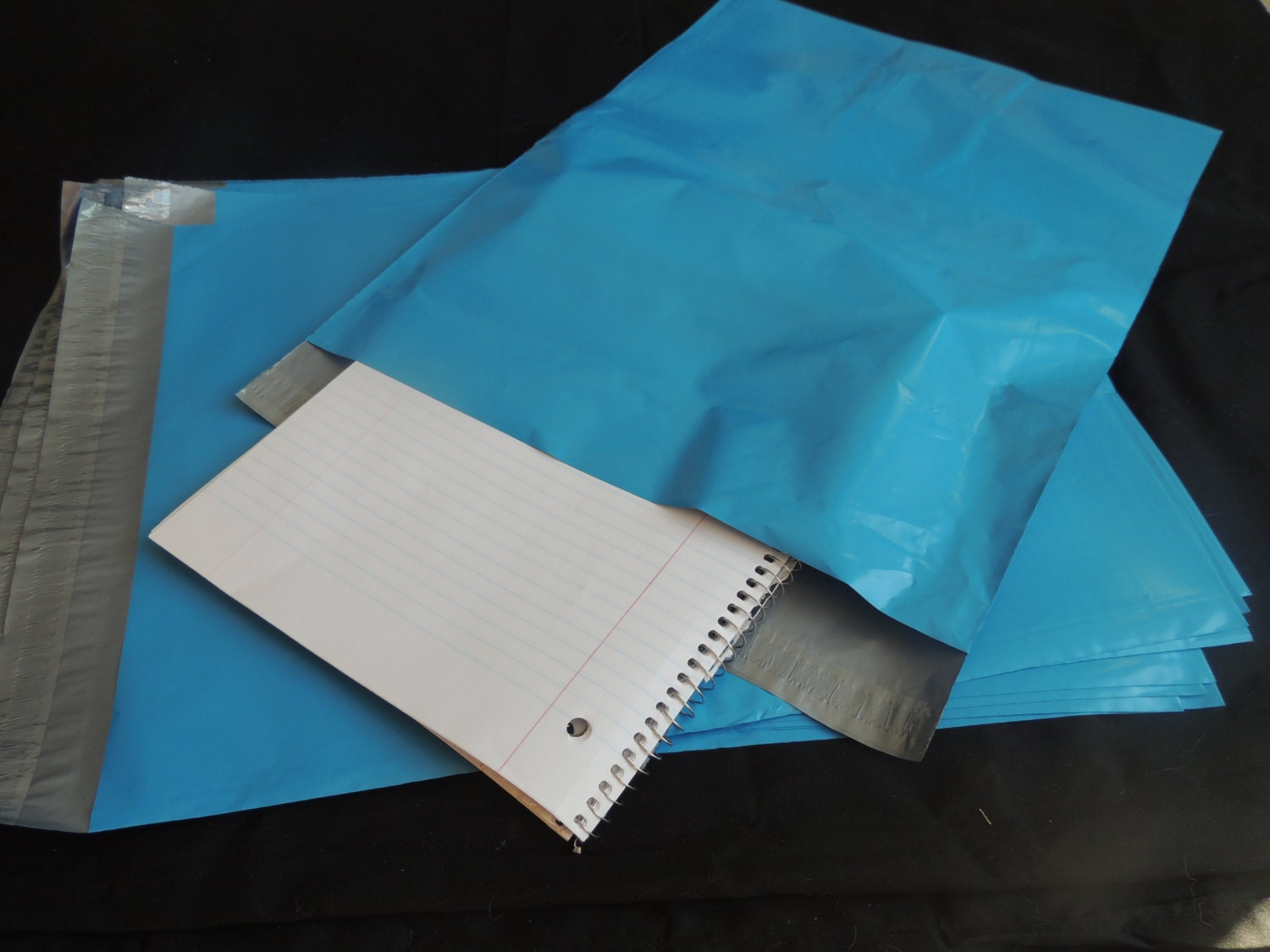 100 pack bright blue 12x15 5 poly mailers flat poly for 12x15 calculator