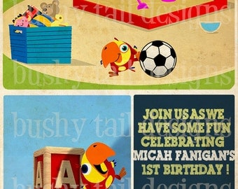 Vocabularry  Birthday Invitation