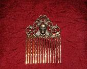Victorian Death - Steampunk Hair Comb