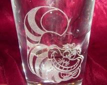 Alice in Wonderland - Cheshire Cat Shot Glass