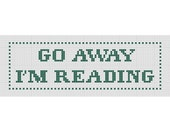 Bookmark Cross Stitch Pattern PDF Funny Snarky