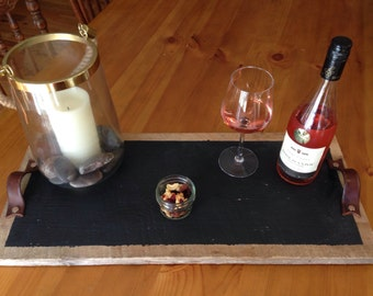 Salvaged Wooden Tray