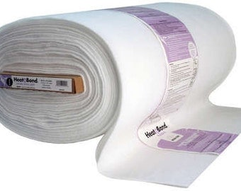 HEAT n BOND Extra High Loft iron-on fusible interfacing--white--Therm O Web--45'' wide--price is per 1/2 yard