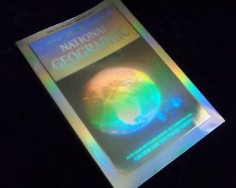 National Geographic Vintage Hologram Edition