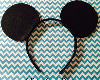 Mickey Mouse Ears Headband for Children to Adult