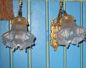 Vintage French Wall Light...